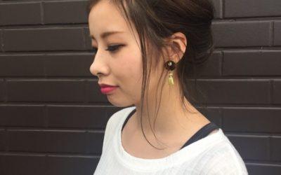 arrange hair☆